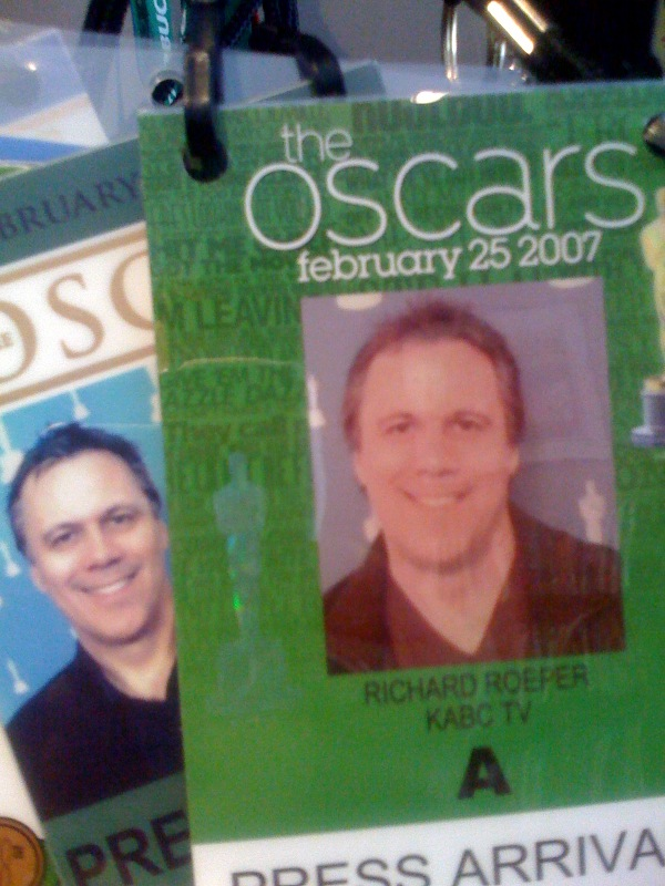 Oscar credentials